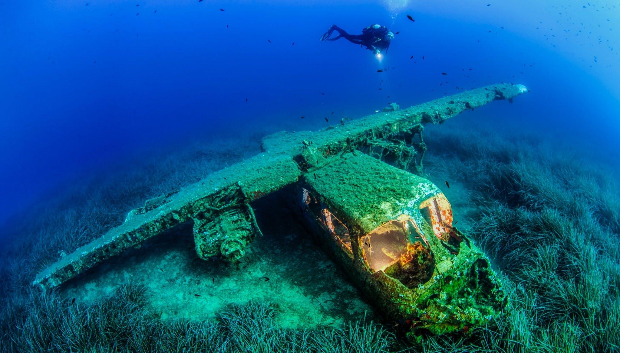 AE underwater